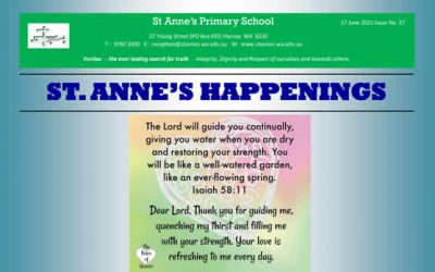 St Anne's 2021 Issue 17 Happenings