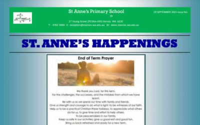 St Anne's 2021 Issue 29 Happenings